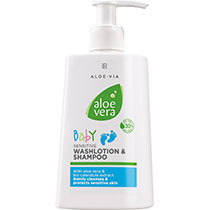 LR Aloe Vera Baby Sensitive Waschlotion & Shampoo (20320-1)