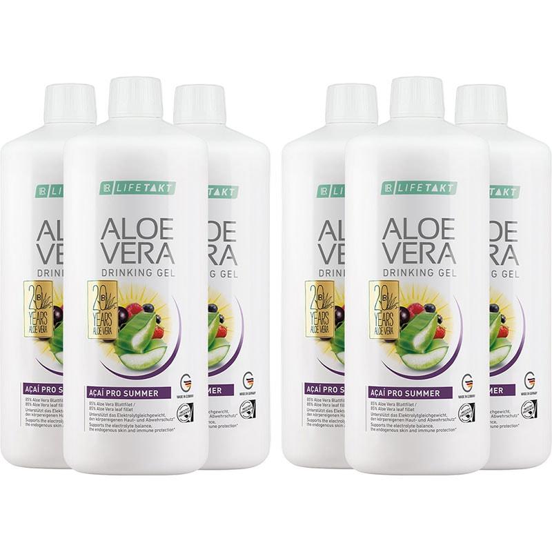 LR Aloe Vera Drinking Gel Acai Pro Summer 6er Set (81106-1)