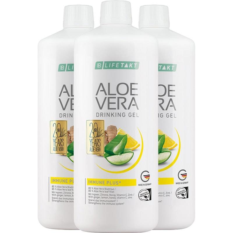 LR Aloe Vera Drinking Gel Immune Plus 3er Set (81003-1)