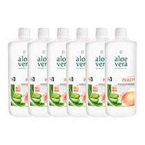LR Aloe Vera Drinking Gel Pfirsich 6er Pack (80756-180)