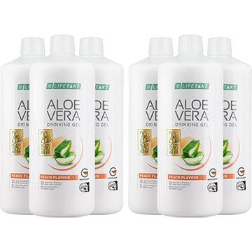 LR Aloe Vera Drinking Gel Pfirsich / Peach 6er Set (80756-680)
