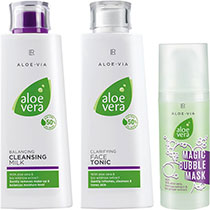 LR Aloe Vera Face Cleaning Set (20798-101)