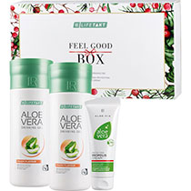 LR  Aloe Vera Feel Good Box Peach (80712-680)