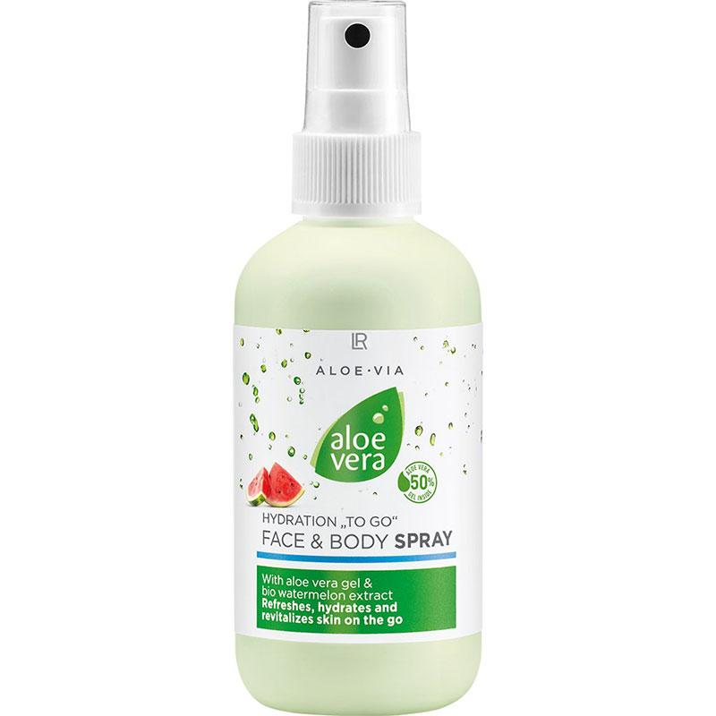 LR Aloe Vera Feuchtigkeit To Go Gesicht & Körper Spray (20753-1)