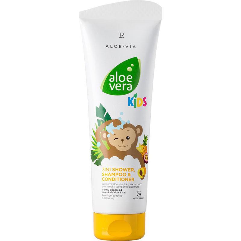 LR Aloe Vera Kids 3in1 Duschgel, Shampoo & Spülung (20328-1)