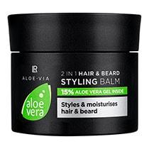 LR Aloe Vera Men's Essentials 2in1 Haar & Bart Styling Balm (20438-101)