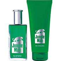 LR Jungle Man Eau de Parfum + Haar- & Körpershampoo  (3559)