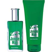LR Jungle Man Eau de Parfum + Haar- & Körpershampoo Set (30484-1)