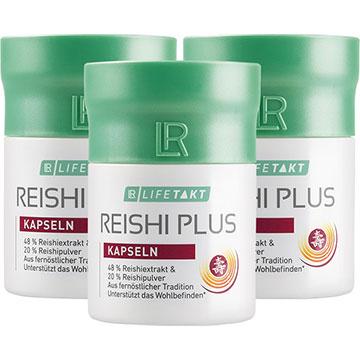 LR Reishi Plus Kapseln 3er Set (80147-401)
