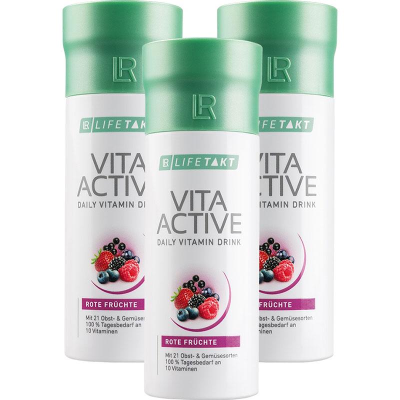 LR Vita Active Rote Früchte 3er Set (80148-401)